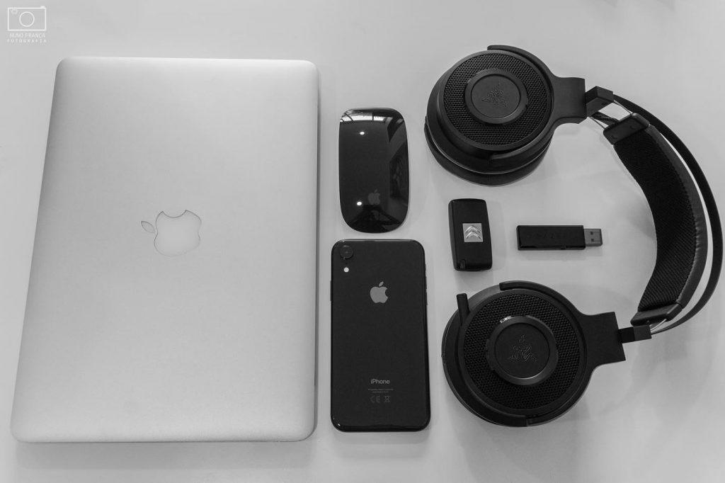 Flat Lay Photography - experiências