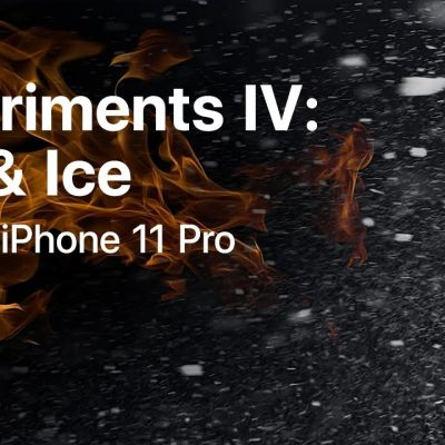 iPhone 11 Pro Experiments