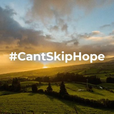 Can't Skip Hope (It's time to stop)