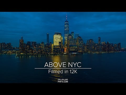 Above NYC - 12k video