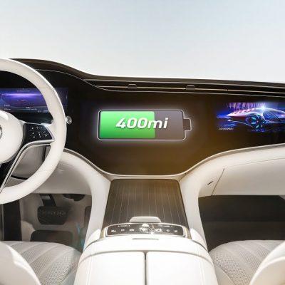 Mercedes EQS – luxo eléctrico