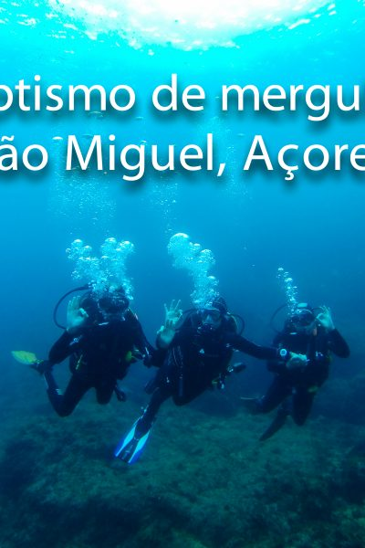 Baptismo de Mergulho nos Açores