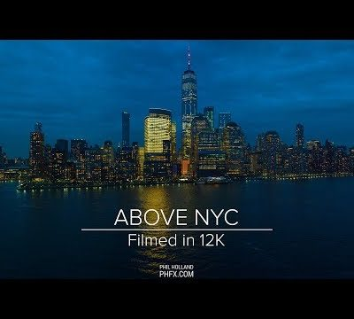 Above NYC – 12K video