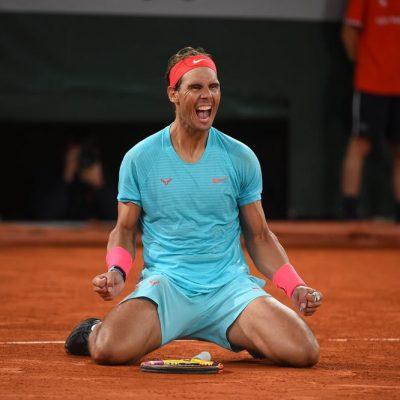 Nadal venceu Roland-Garros
