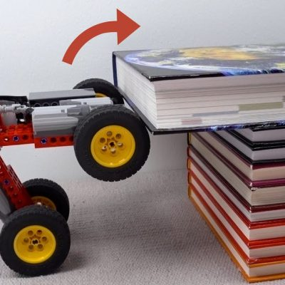Física numa peça LEGO