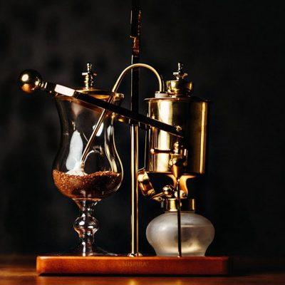 Máquinas de café excêntricas